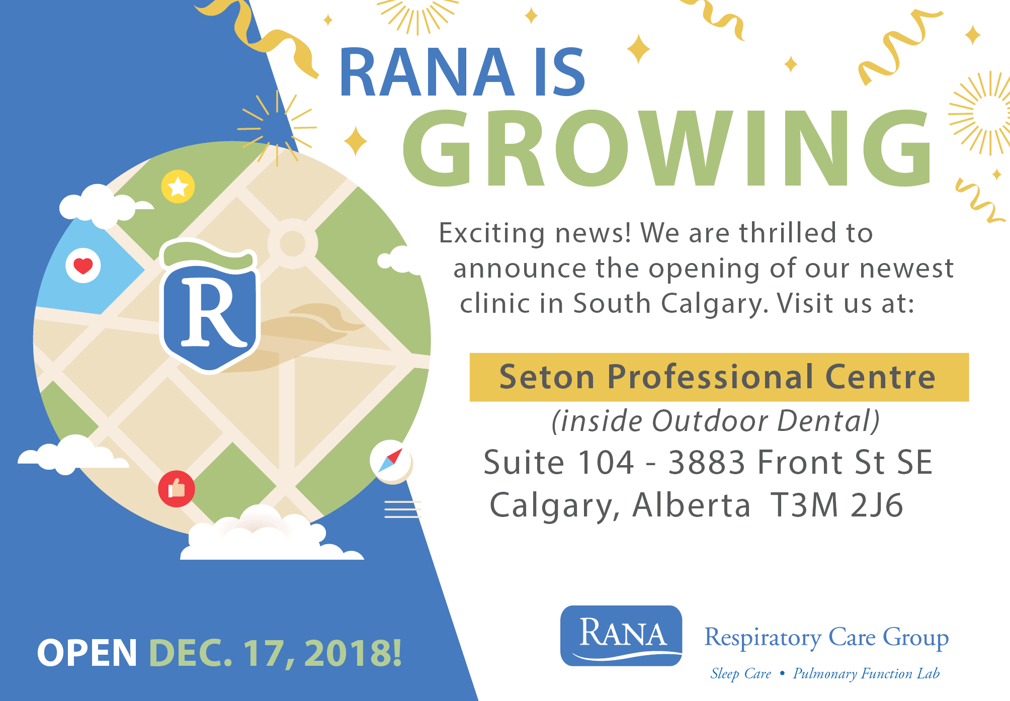 New RANA location now open in South Calgary!