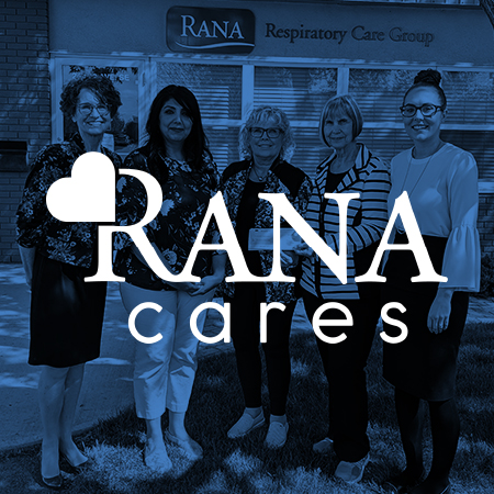 Pulmonary Fibrosis Society of Calgary, Canadian Mental Health Association, and Main Street Project receive RANA Cares donations
