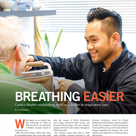 Careica Health Featured in MBiz Magazine