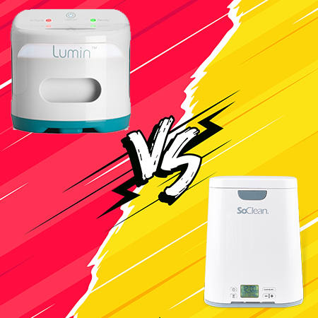 Lumin vs SoClean 2: CPAP Sanitizer Showdown
