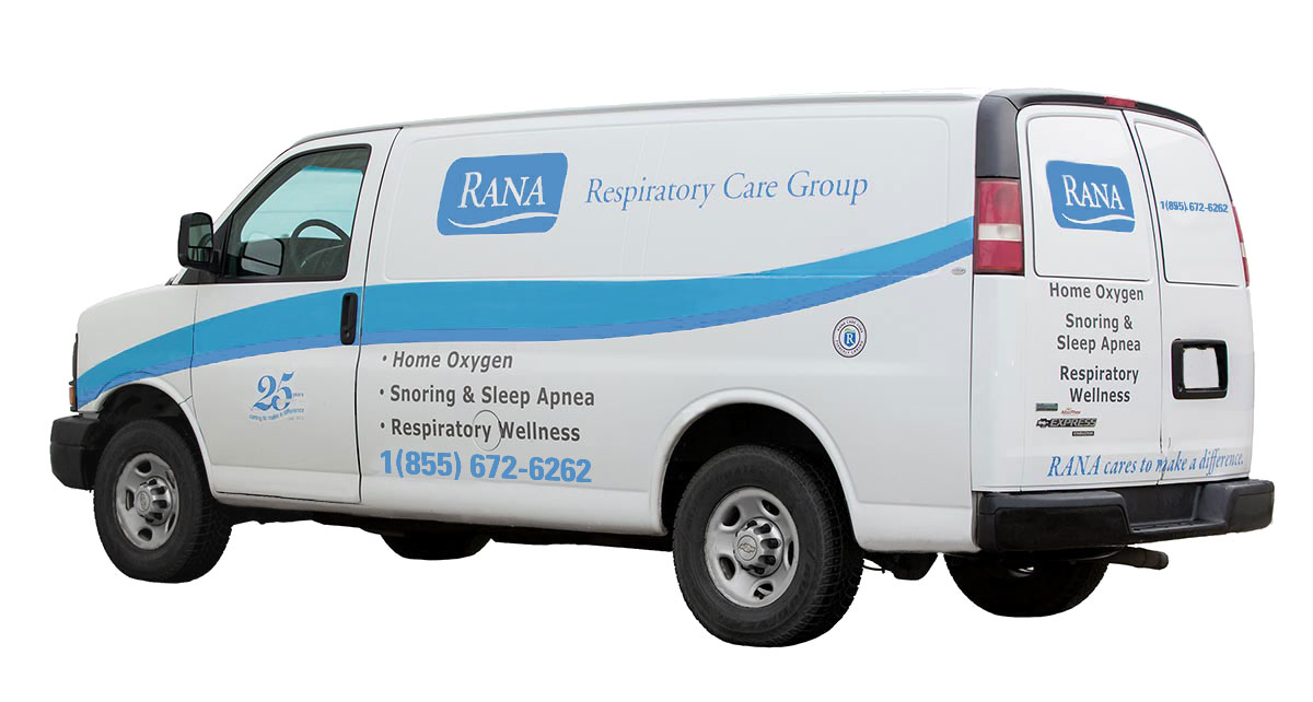 RANA Respiratory Care Group Van